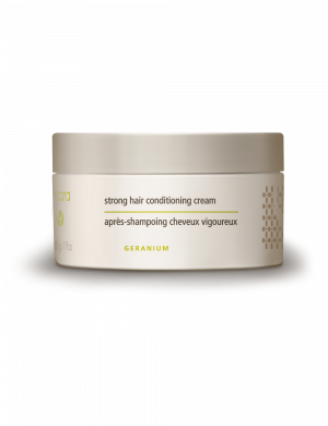 strong hair conditioning cream dark background