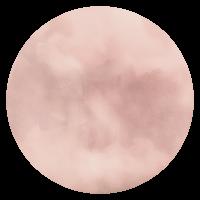 ylem icon pink watercolor circle