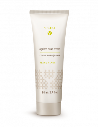 ageless hand cream light background