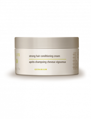 strong hair conditioning cream light background